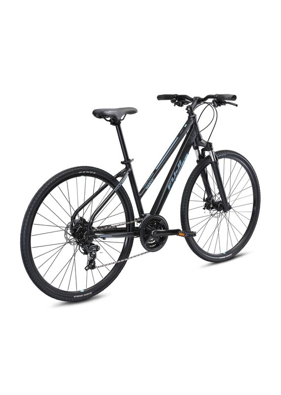 Fuji Fuji Traverse 1.7 ST Cross Terrain Hybrid Bicycle Satin Black