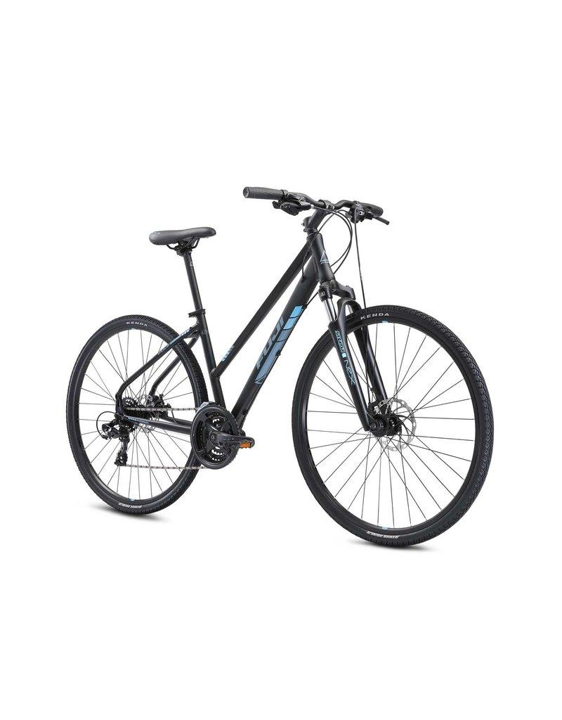 Fuji Fuji Traverse 1.7 ST Cross Terrain Hybrid Bicycle Satin Black