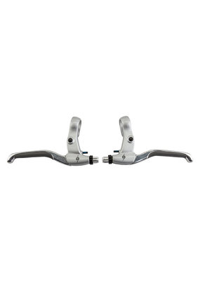 ORIGIN8 Origin8 BRAKE LEVER Set for V-Brakes  ALY w/Barrel Adjuster Silver