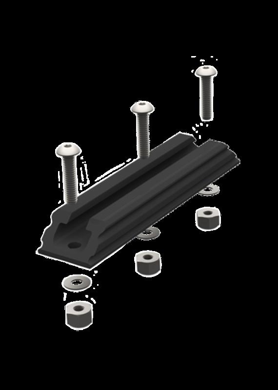 YAKATTACK YakAttack GTSL90 GearTrac 4 inch Black