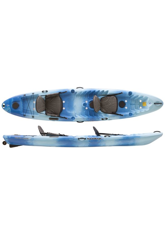 Liquid Logic Liquid Logic Deuce Coupe Cross Over Sit On Top Tandem Kayak