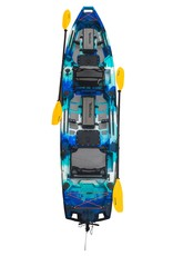 Vanhunks Kayaks Vanhunks Kayaks Sauger Tandem Pedal/Fin Drive Ready Fishing Kayak