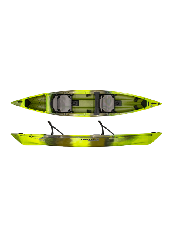 Native WaterCraft Native Watercraft Ultimate FX 15 Tandem Fishing Kayak/Canoe