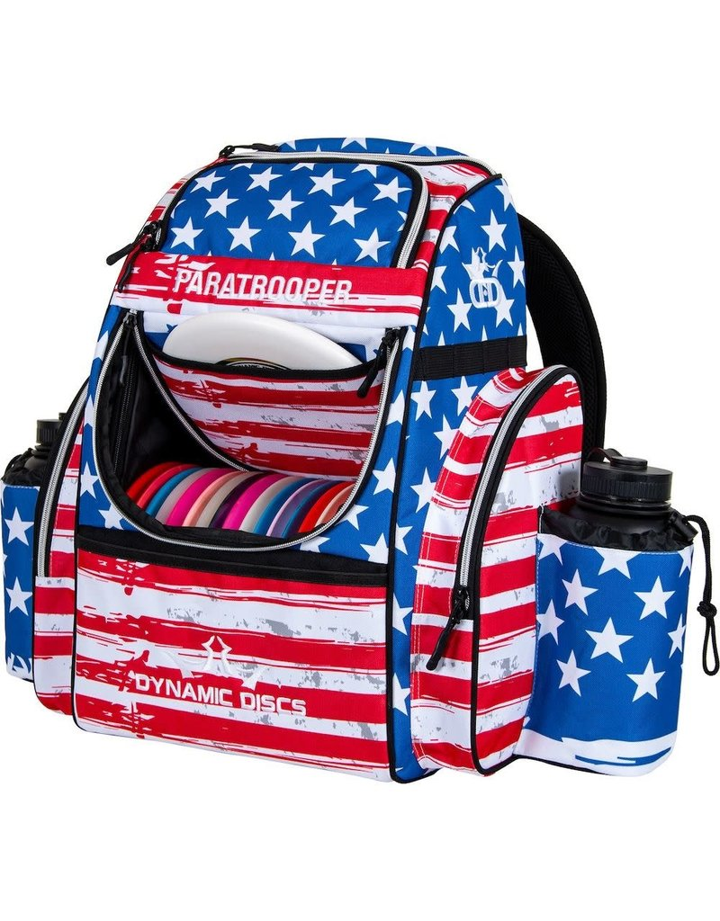 Dynamic Discs Dynamic Discs Paratrooper Backpack Disc Golf Bag Stars and Strips