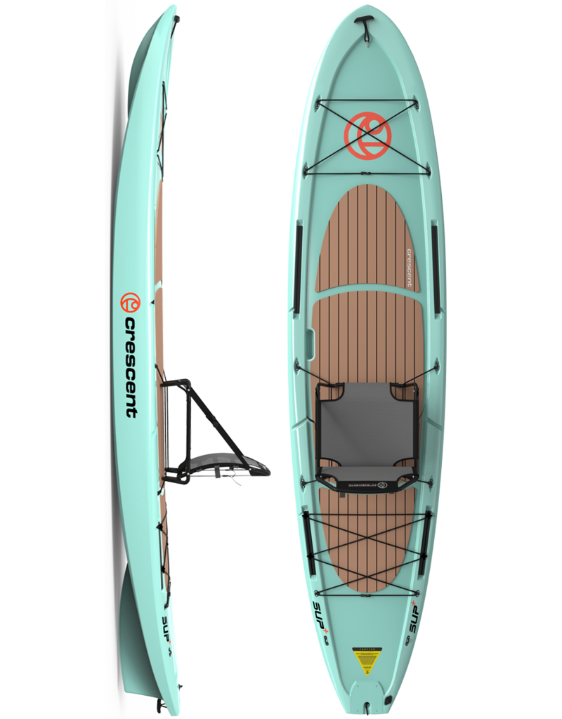 Crescent Kayaks Crescent Kayaks SUP+ Hybrid Paddleboard Kayak