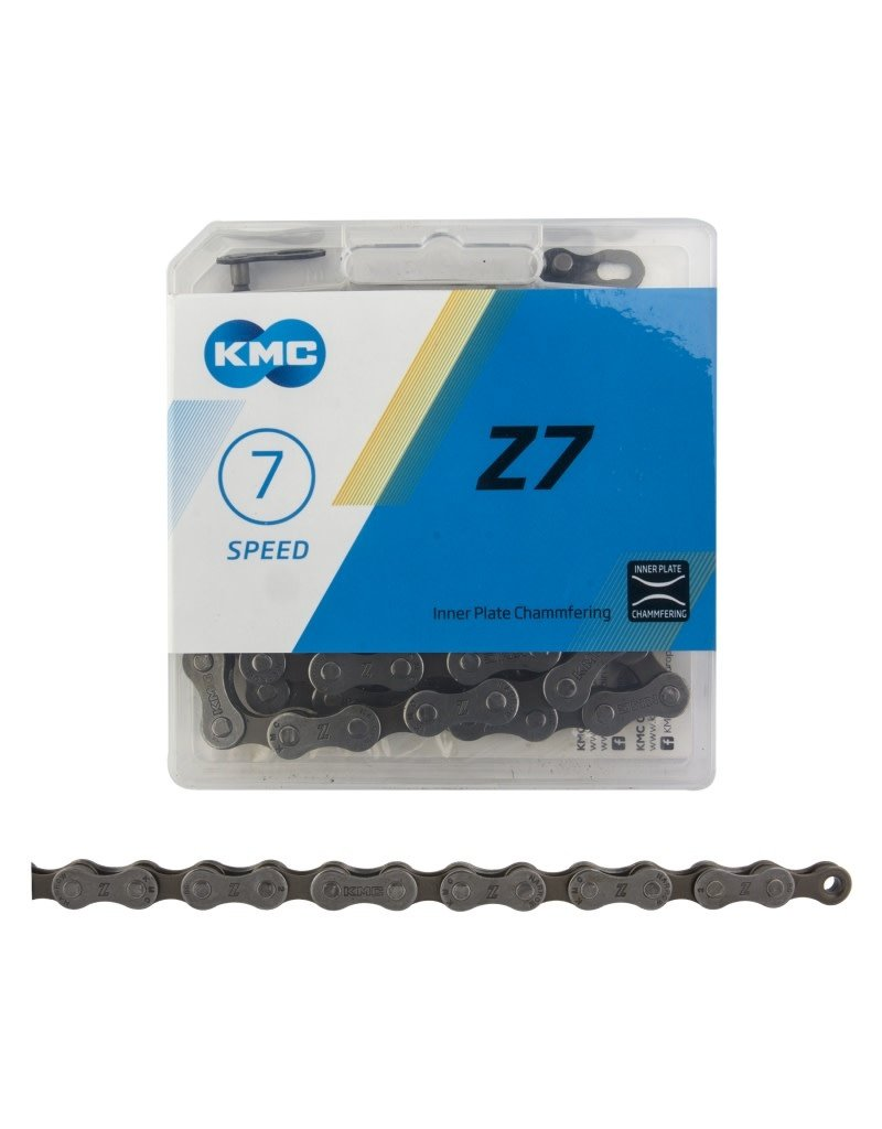 KMC KMC Z7 INDEX Bicycle Chain 6 7 8 Speed 116 Link
