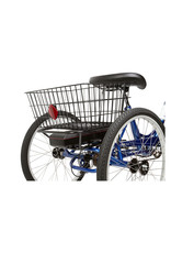 SUN BICYCLES Sun Bicycles E350 Adult Electric Trike Blue