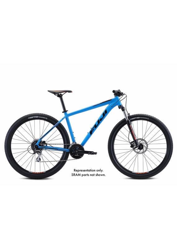 Fuji Nevada 29 1.7  Hard Tail Mountain Bike SRAM 17in Cyan Blue