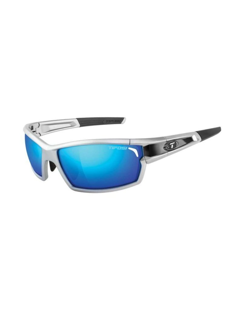 TIFOSI OPTICS CamRock, Silver/Black Interchangeable Sunglasses