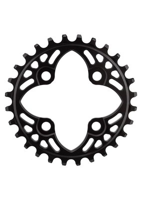 ABSOLUTE BLACK BICYCLE CHAINRING ABSOLUTEBLACK 64mm 28T 4B BK