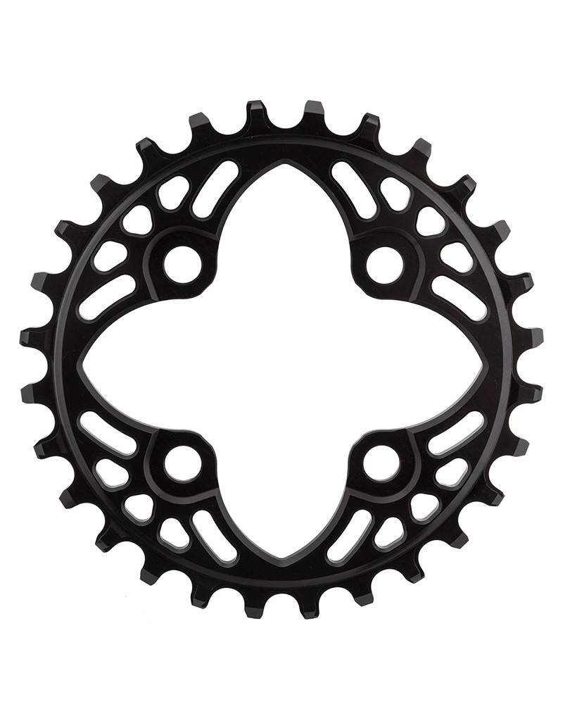 ABSOLUTE BLACK ABSOLUTE BLACK BICYCLE CHAINRING 64mm 28T 4B BK