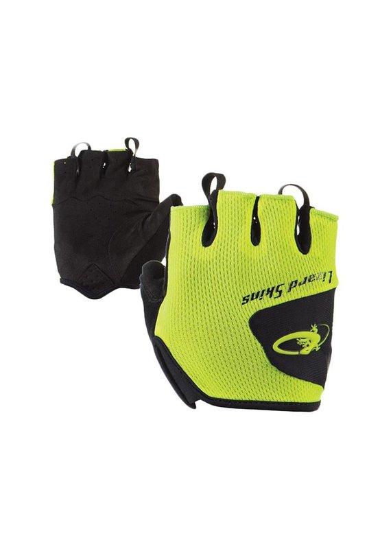 LIZARD SKINS Lizard Gloves Aramus Size Medium Neon Yellow