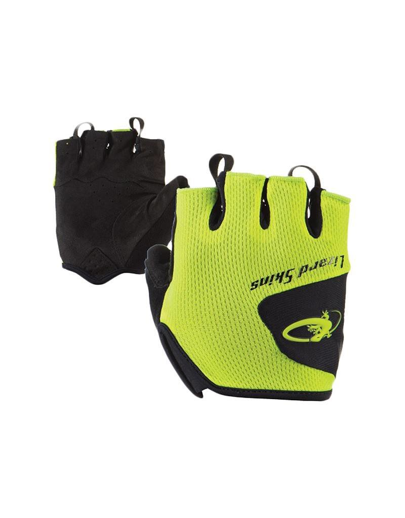 LIZARD SKINS Lizard Gloves Aramus Size Medium Neon Yellow