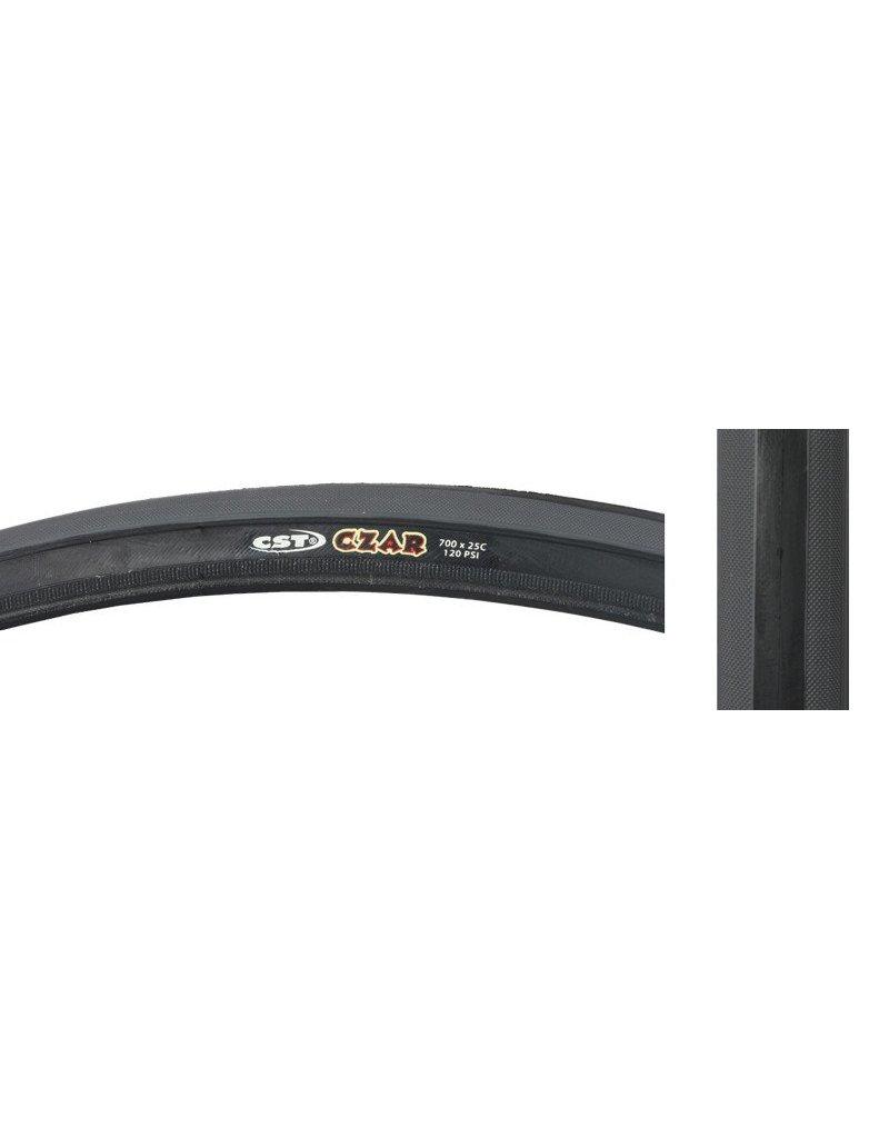 CST PREMIUM CST Premium Czar Tire 700x25 Black/Grey 120lb