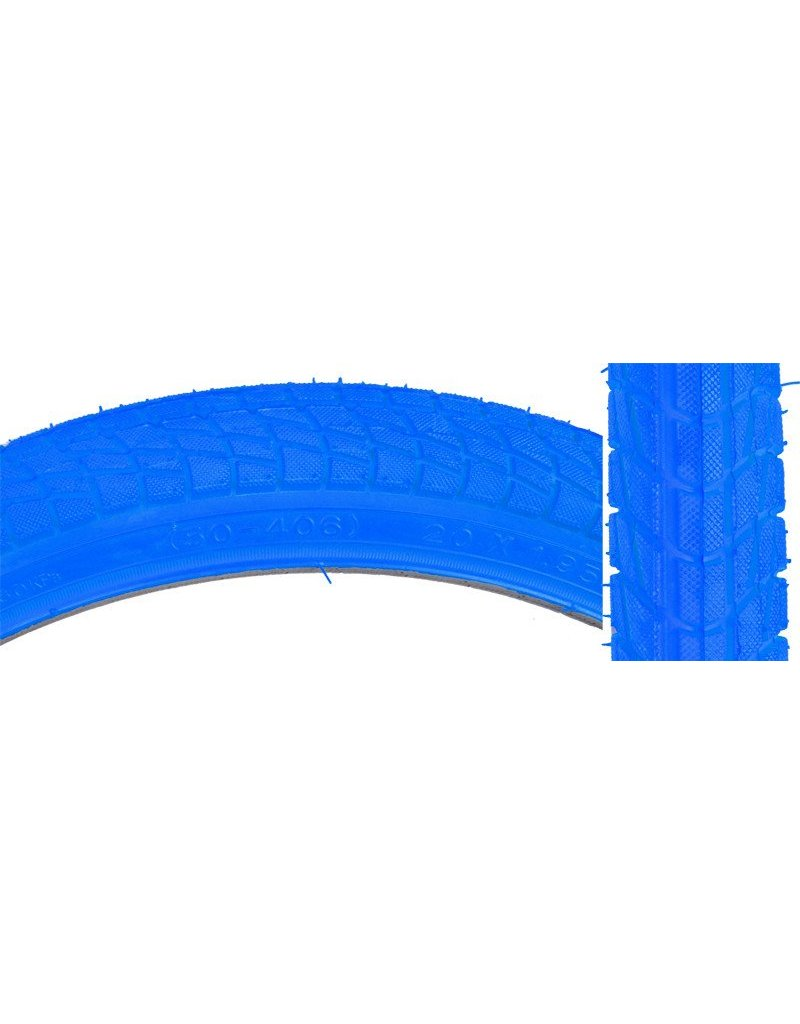SUNLITE Sunlite Bicycle TIRES 20x1.95 Blue KONTACT K841