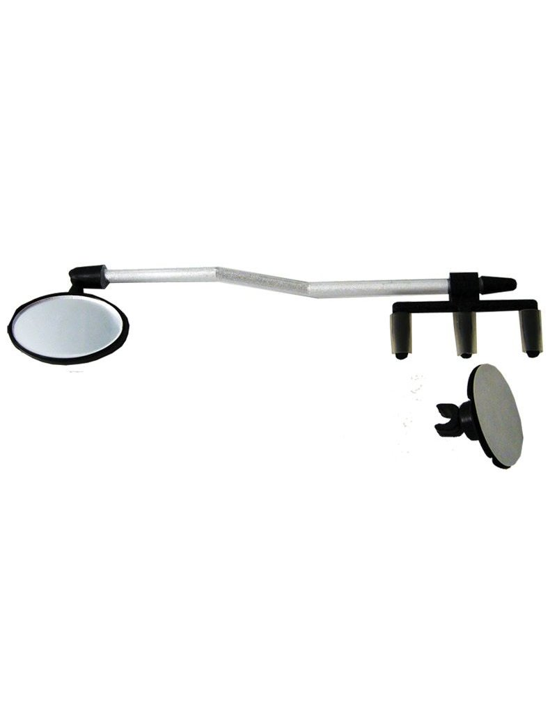 SUNLITE Sunlite Bicycle Helmet and Eyeglass Mount Mirror