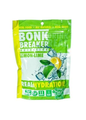 Bonk Breaker BONK REAL HYDRATION MIX LEMON LIME 40 SERVING BAG