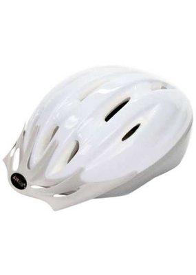 AIRIUS AIRIUS V10T Mountain Bike Helmet, Medium/Large DMS White/Silver