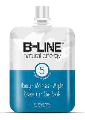 B-Line Natural Energy B-Line Blue Box of 5 Raspberry + Molasses