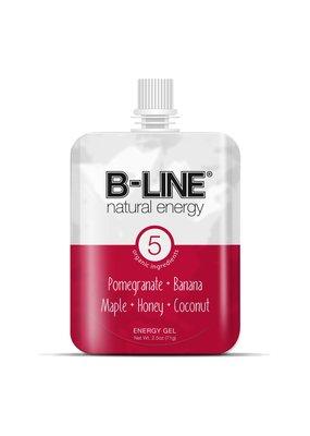 B-Line Natural Energy B-Line Red Box of 5 Pomegranate + Banana
