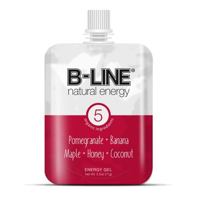 B-Line Natural Energy B-Line Red Box of 5 Pomegranate + Banana