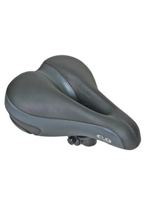 CLOUD-9 BICYCLE SADDLE C9 COMFORT AIRFLOW SOFT TOUCH VINYL BK