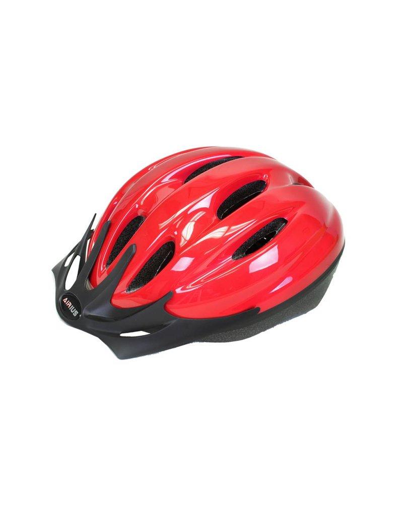 AIRIUS AIRIUS V10T Mountain Bike Helmet, Red Medium/ Large