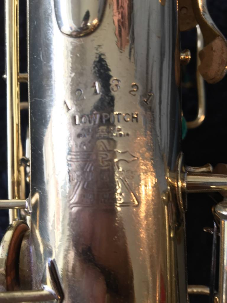 Buescher Tru-Tone Alto Saxophone