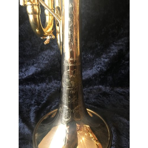 Bach Artisan Gold Plated Eb Trumpet