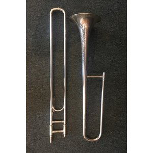 F.E. Olds Silver M Series Trombone