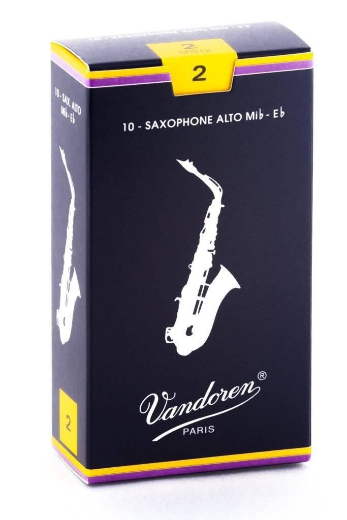 Vandoren Vandoren Traditional Alto Sax Reeds - Box of 10