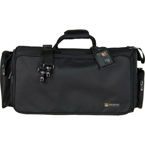 PROTEC Protec Triple Horn Bag W/ Mute Bag - Gold Series