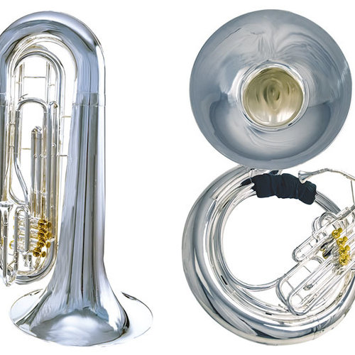 System Blue Professional Tubas