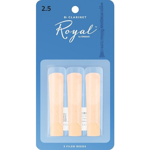 Rico Rico Royal Bb Clarinet Reeds 3-Pack