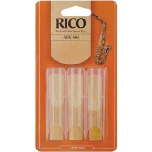 Rico Rico Alto Sax Reeds- 3 pack