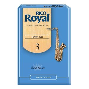 Rico RICO Royal Tenor Sax Reeds - Box of 10