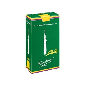 Vandoren Vandoren JAVA Soprano Sax Reeds - Box of 10