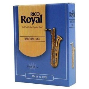 Rico Rico Royal Baritone Sax Reeds - Box of 10