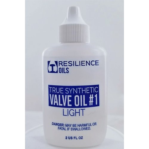 Resilience Oils True Synthetic Professional Valve Oil #1 Light - 1.25 oz
