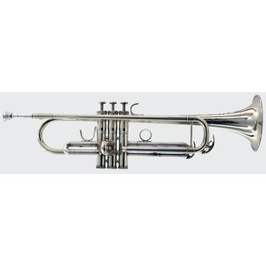 BAC Musical Instruments BAC  New York City Bb Trumpet (Silver Finish)