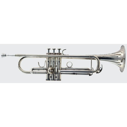 "BAC Musical Instruments BAC Musical Instruments ""Artist"" Series New York City Bb Trumpet (Silver Finish)"