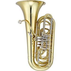 Jupiter Band Instruments Jupiter JTU-1140 Performance Level 4 Valve Rotary BBb Tuba