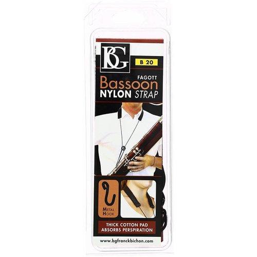 BG France Nylon Bassoon Strap