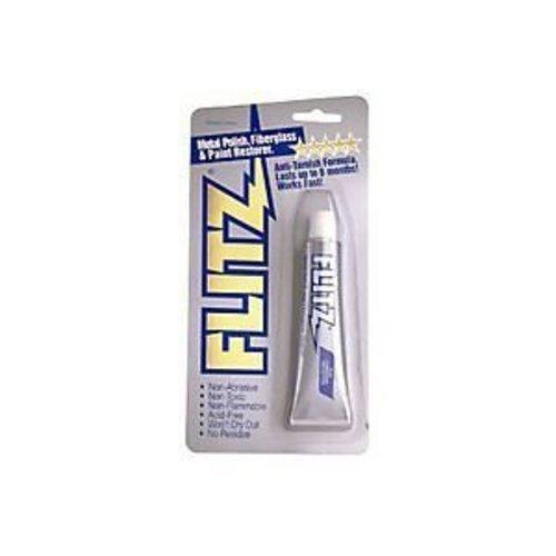 Flitz BP 03511 Metal, Plastic and Fiberglass Polish Paste, 1.76 oz. Blister Tube