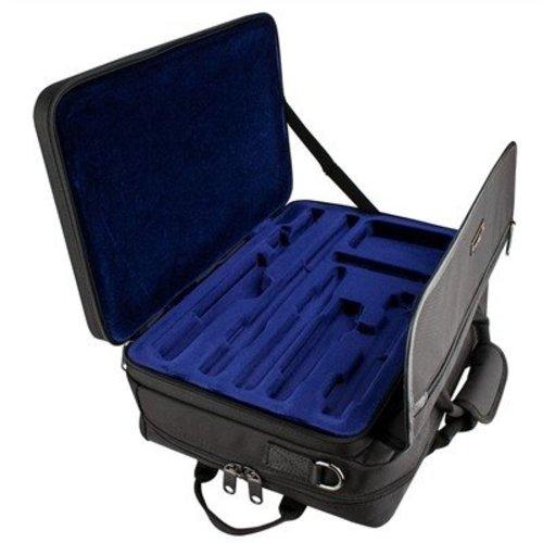 PROTEC Protec Flute/Piccolo Combo Lux Messenger PRO PAC Case
