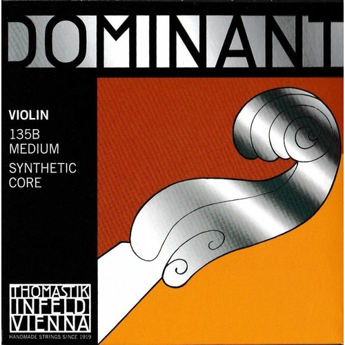 Thomastik Dominant Violin Strings - 135B 4/4 Set/Medium