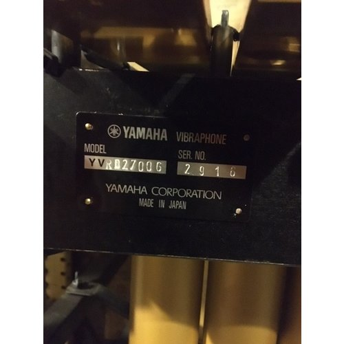 Yamaha YVRD2700GC 3.0 Oct Vibraphone