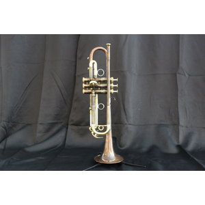 "BAC Musical Instruments BAC Musical Instruments ""Handcraft"" Series Paseo Bb Trumpet w/ Patina Finish"