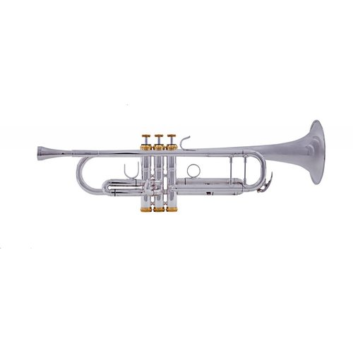 System Blue System Blue Professional Marching Bb Trumpet SB12S - Silver