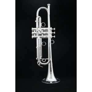 """BAC Musical Instruments BAC Musical Instruments """"Handcraft"""" Series Paseo Bb Trumpet - Silver Plated"""